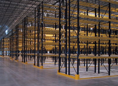 National City, CA Used Pallet Rack Verticals